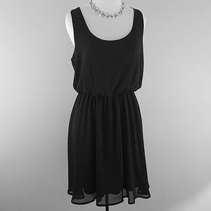 LUSH black sleeveless dress medium